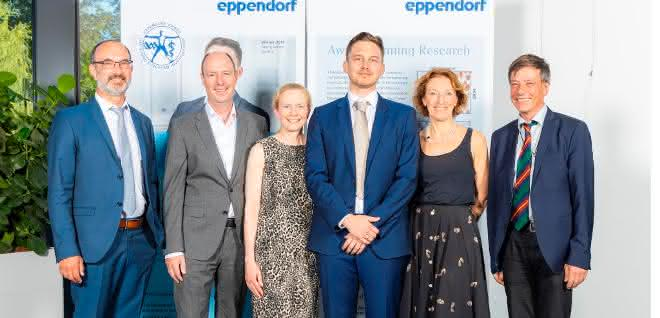Preisverleihung des Eppendorf Award for Young European Investigators 2019