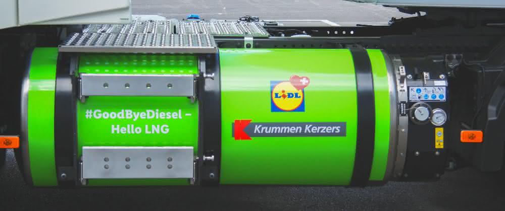 """""""Goodbye Diesel – Hello LNG"""": Erste LNG-Tankstelle für Lkw in der Schweiz"""