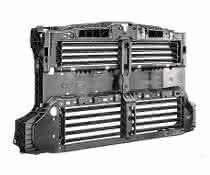 Luftklappensysteme verbessern die Aerodynamik des Fahrzeugs