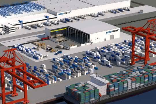 Nordfrost investiert weiter am JadeWeserPort Wilhelmshaven