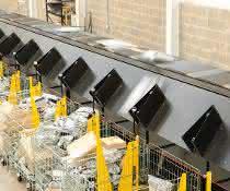 Quergurtsorter: Skynet steigert Paketdurchsatz mit Interroll