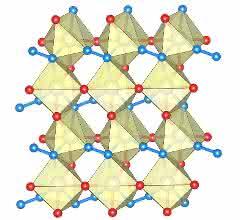 Die Struktur des Rhenium-Nitrid-Pernitrids.