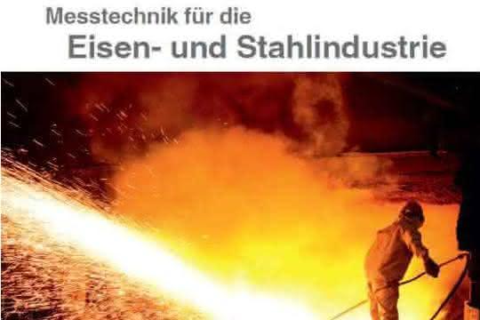 Broschüre für die Stahlindustrie