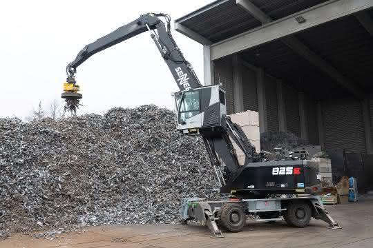 Flexibel einsetzbar: Schrott-Recycler setzt auf Sennebogen