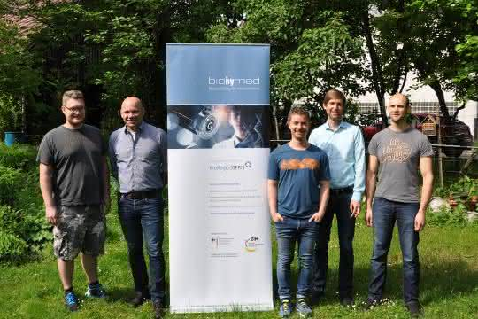 Kick-off-Meeting des Biohymed-Projekts Pantograph in Tübingen.