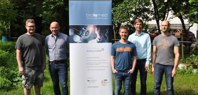 Kick-off-Meeting des Biohymed-Projekts Pantograph in Tübingen.