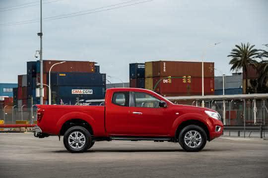 Marktstart für überarbeiteten Pick-Up Navara