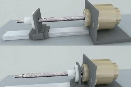 Schrittmotor-Linearaktuator