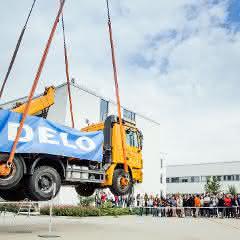 Guinness Weltrekord bei Delo