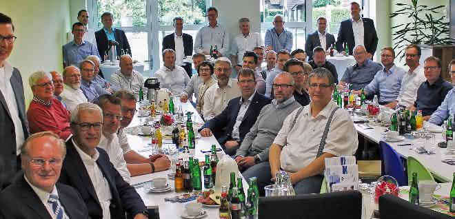 Bei einem Treffen des Arbeitskreises Spritzguss wurde die positive Entwicklung des Vereins ZWT vorgestellt.