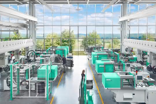 Produktionshallen und Technikum