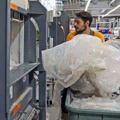 Verpackungsabfälle