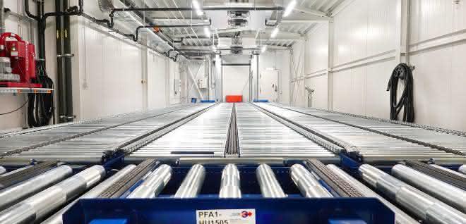 Vollautomatisches Tiefkühllager mit Mehrwert