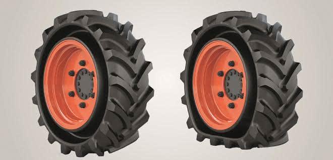 Galileo Wheel stellte den den CupWheel Tire auf der bauma vor