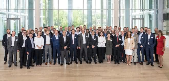 Vertreter von 20 internationalen Chemie-Unternehmen bei BASF in Ludwigshafen