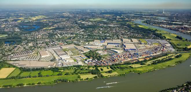 Halbjahresbilanz: Duisburger Hafen spürt Eintrübung der Konjunktur