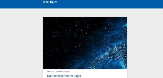 """Multimediale Plattform: """"Ideenraum"""" lädt zum Gedankenaustausch ein"""