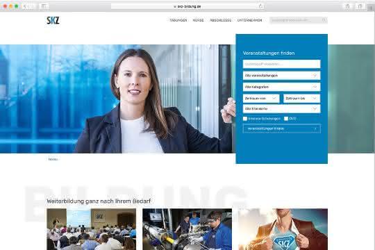 Weiterbildungs-Homepage