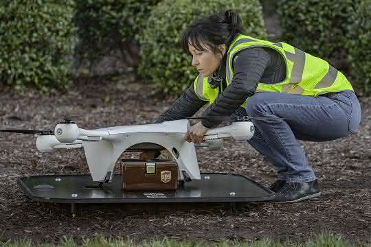 UPS gründet Tochtergesellschaft: Lieferung per Drohne: UPS setzt auf neue Strategien