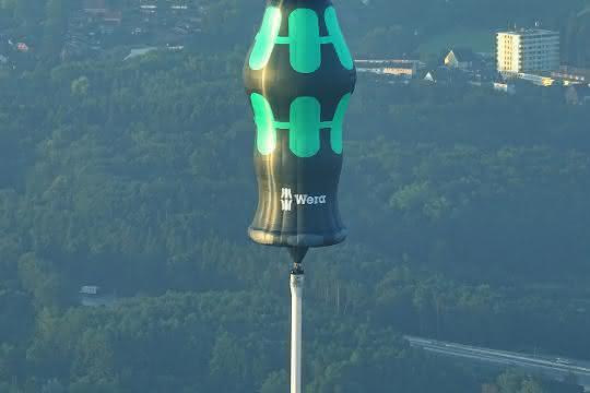 Wera-Schraubendreher-Heissluftballon