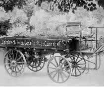 der erste Lastkraftwagen der Welt