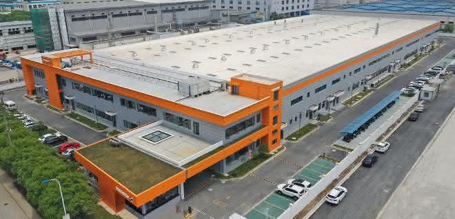 Produktionsgebäude im chinesischen Suzhou