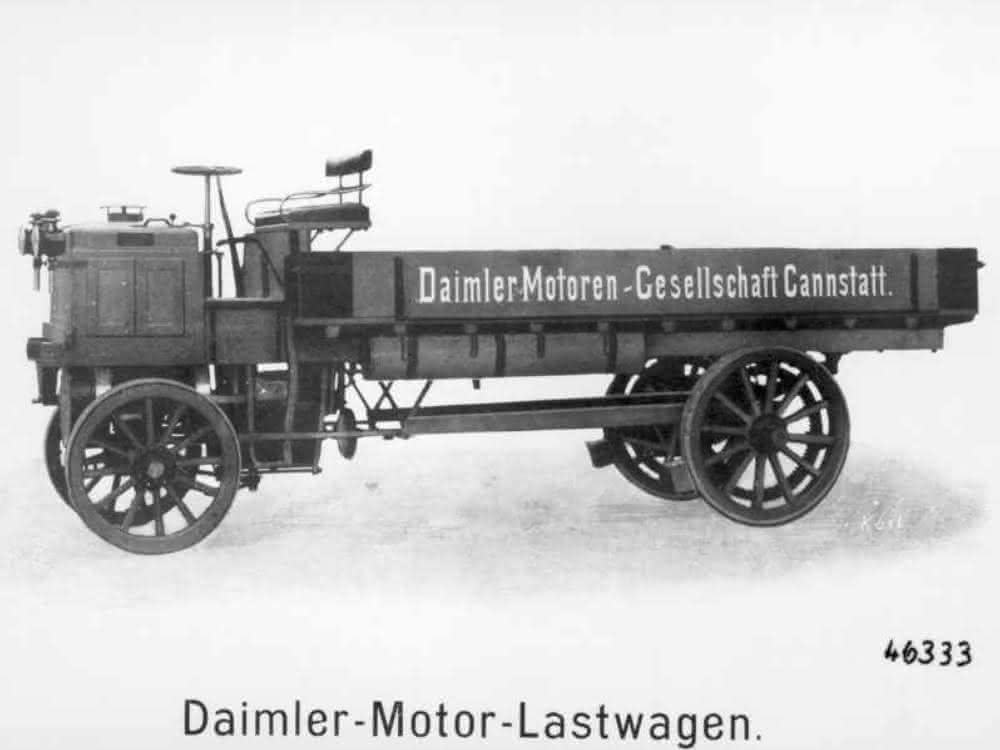 Lkw im Baustofftransport
