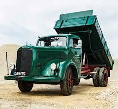 Rundhauber-Lastwagen