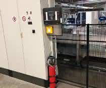 Löschmodule: Brandschutz für Regalbediengeräte