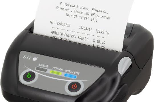 Thermobondrucker: Druckt auch bei Minusgraden