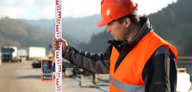 Laserempfänger für genaue Messungen: Weniger Messfehler und geringerer Zeitaufwand