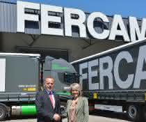 Krone-Sattelauflieger für italienischen Logistiker: 80 Krone Profi Liner an Fercam ausgeliefert