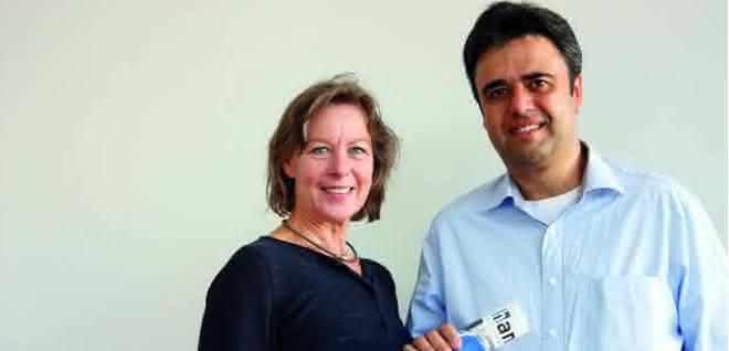Petra Born und Daniel Schilling