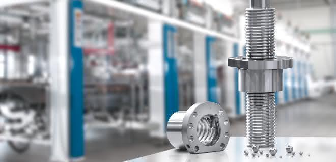 Rexroth erweitert Portfolio: Zusätzliche Größen für Kugelgewindetriebe