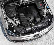 Frontendträger im Mercedes-Benz GLE