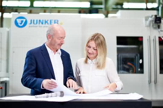 Die Junker-Gruppe auf der EMO Hannover 2019.