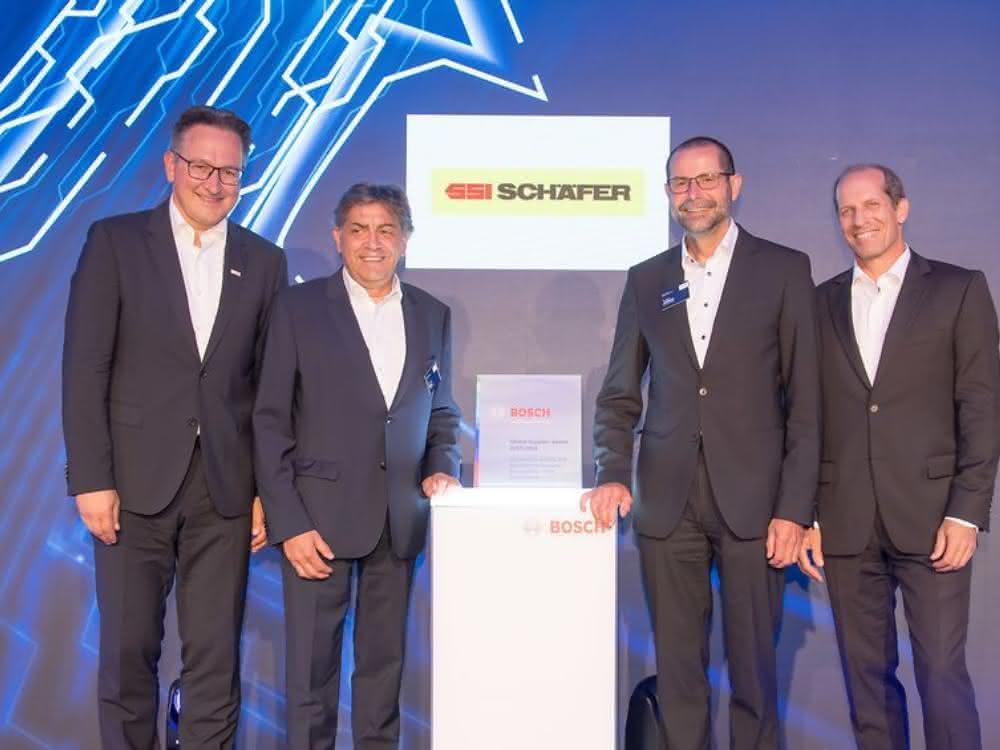 Bosch Global Supplier Award geht an SSI Schäfer