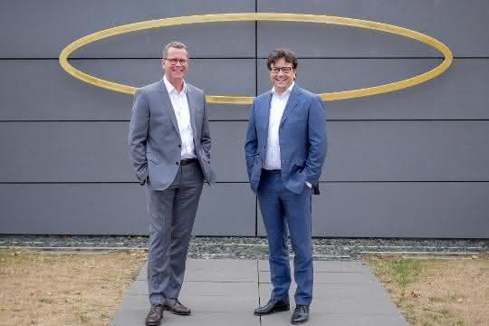 Albrecht Wiener und Elementar Geschäftsführer Albrecht Sieper