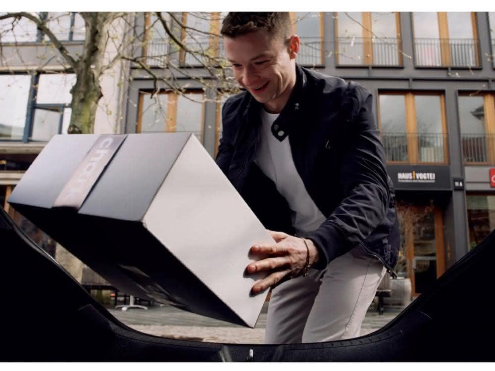 Pilotprojekt: Lieferungen ins parkende Auto