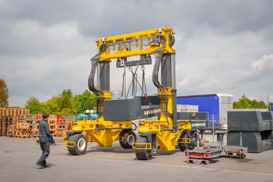 Mobiler Portalkran: Gewichtige Lösung für Beton