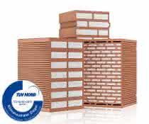 Mauerwerksziegel: Wärmeschutz ohne gefährliche Emissionen