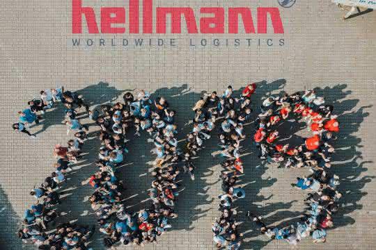 Ausbildungsstart: 190 Azubis starten bei Hellmann ins Berufsleben