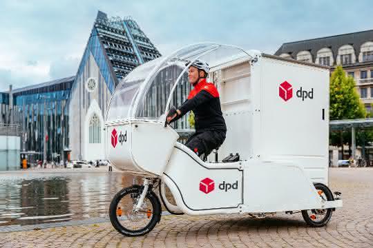 City-Logistik: DPD setzt Lastenräder in Leipzig ein