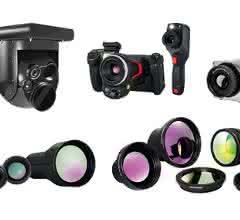 Kamerasortiment der InfraTec GmbH