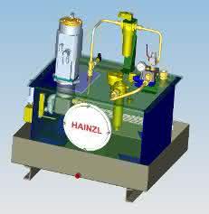 Aufbau eines Servohydraulikaggregats