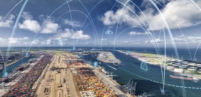 Digitale Transportplattform: Hafenbetrieb Rotterdam gründet neues Unternehmen