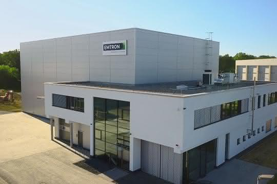 Neues Emtron Büro und Logistikzentrum in Riedstadt