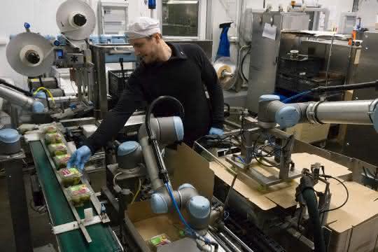 Roboter-Einsatz bei Atria Scandinavia