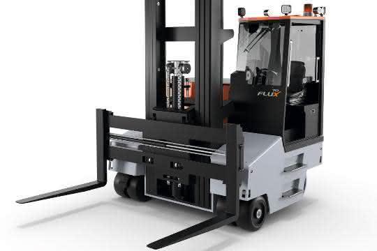 Aus materialfluss SPEKTRUM 2019: Universaltalent jetzt auch für Lasten bis zu sieben Tonnen