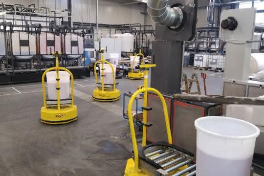 Aus materialfluss SPEKTRUM 2019: Integrator für individuelle Transportroboter